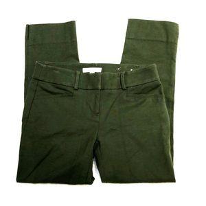 Loft Marisa The Riviera Pant Green Dress Pants 0